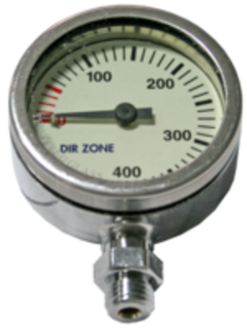 Finimeter 0-320 Bar Tempered Glass